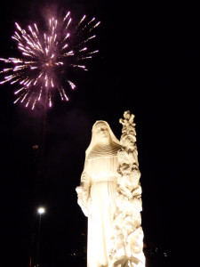 Inaugurazione Statua Santa Rita