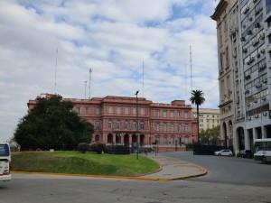 La Casa Rosada di Buenos Aires