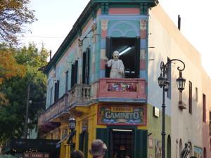 Quartiere La Boca a Buenos Aires